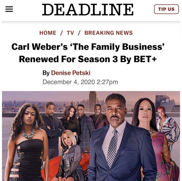 Family Business season 3
